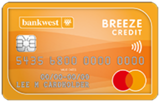 Bankwest Breeze Classic Mastercard®