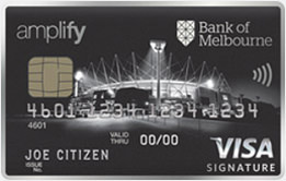 Bank of Melbourne Amplify Signature - Amplify Offer