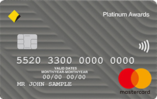 Commonwealth Bank Platinum Awards Credit Card