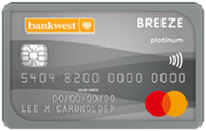 Bankwest Breeze Platinum Mastercard®