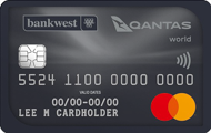Bankwest Qantas World Mastercard