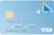 BOQ Low Rate Visa Credit Card