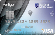 Bank of Melbourne Vertigo Card
