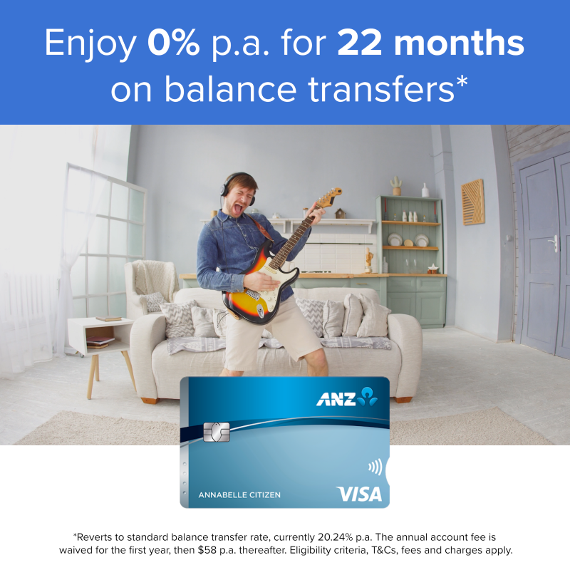 ANZ Low Rate Ad
